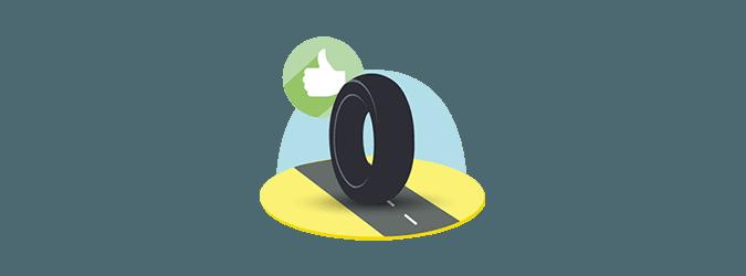 moto picto adhesion route tyres