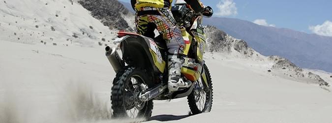 Moto Editoriale desert race Pneumatici