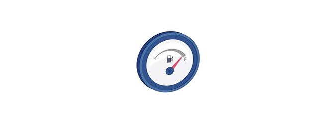 auto pictograma 02 consumes less fuel llantas