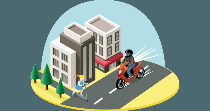 Moto banner mejora de la seguridad consejos y recomendaciones