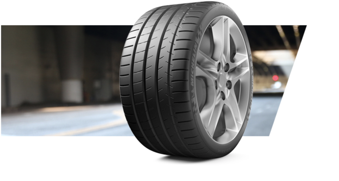 car product card michelin pilot super sport tyres