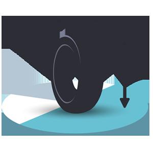 オートバイ ピクトグラム dimensions タイヤ