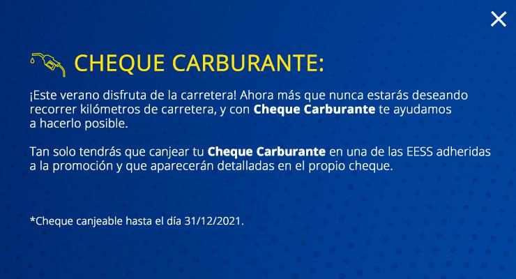 CHEQUE CARBURANTE