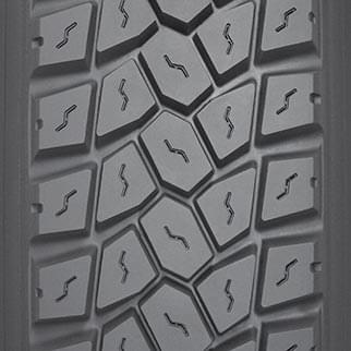 block tread design